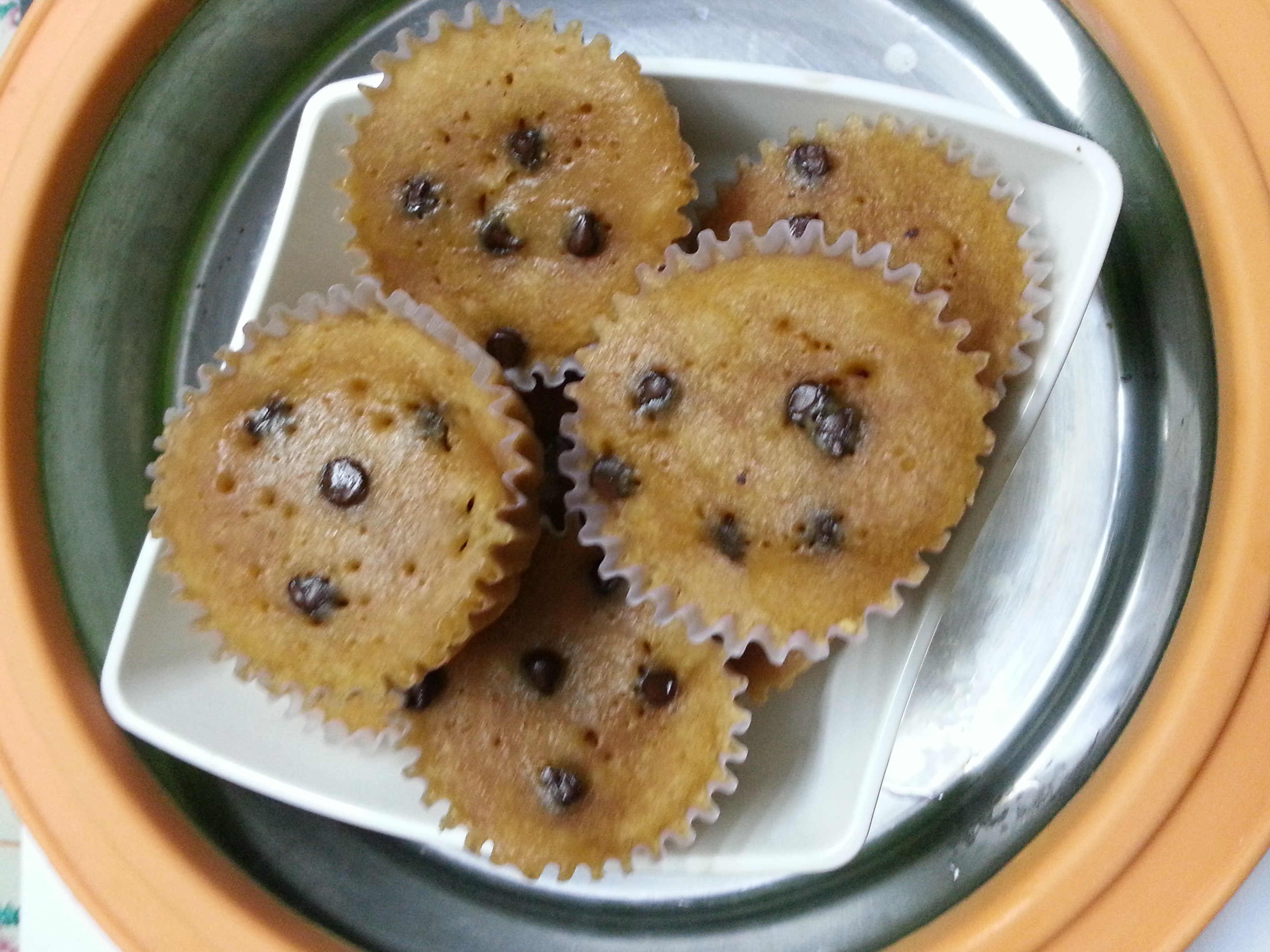 Simple Cake Recipes In Microwave Oven: Biscuit Cup Cakes In Microwave Oven
